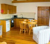 Kitchen area self catering Bromyard