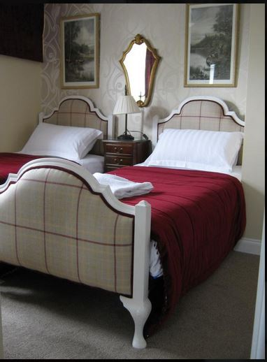 Twin room at B&B Bromyard