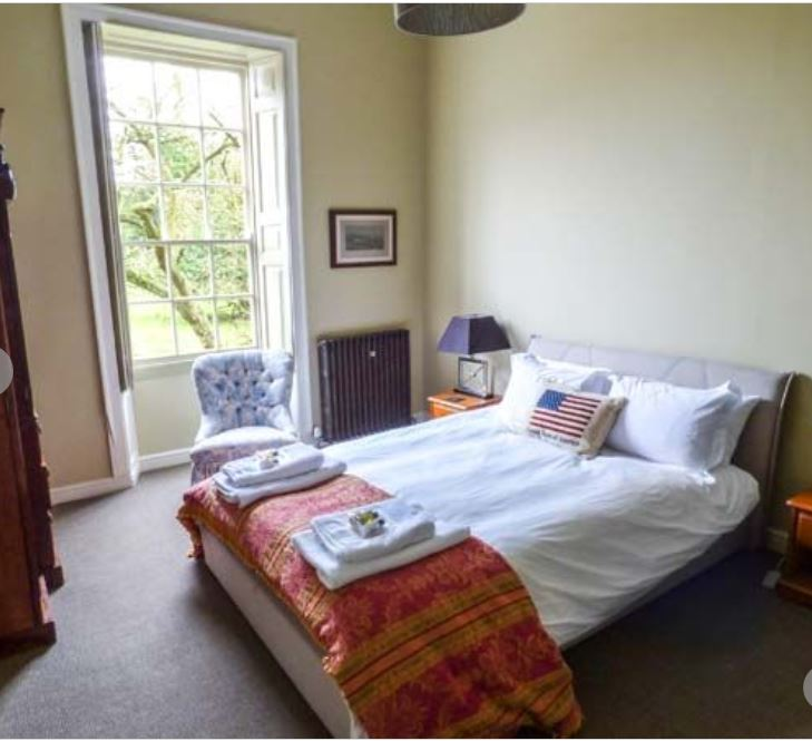 Double room at luxury self catering Bromyard