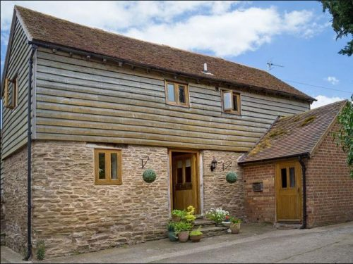 Coach House holiday cottage near Bromyard