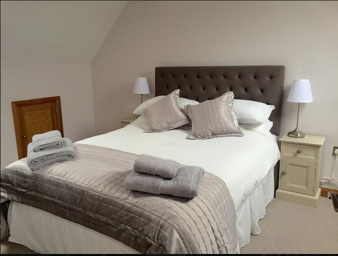 Double room at self catering Bromyard