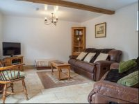 Living area at holiday cottage near Bromyard