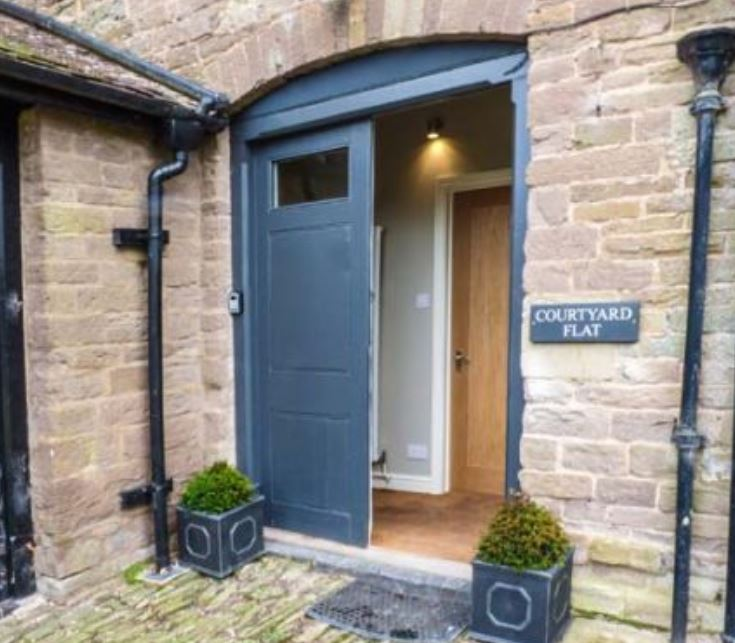Courtyard Flat self catering Bromyard