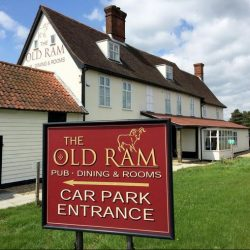 The Old Ram hotel near Diss