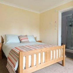 Bedroom at self catering bungalow Diss