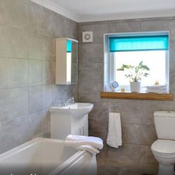 Bathroom at holiday home Portpatrick