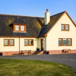 Corsewall Castle Farm Lodge self catering