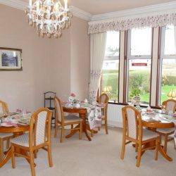 Breakfast room at B&B Stranraer