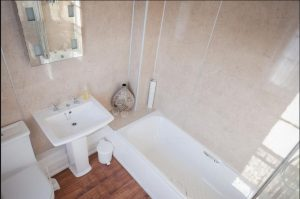 Bathroom at luxury B&B Cromer