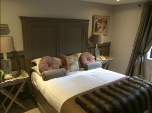 Bedroom at luxury B&B County Down