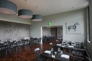 Dining room at luxury inn County Down