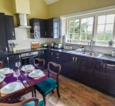Kitchen diner at holiday home Bromyard