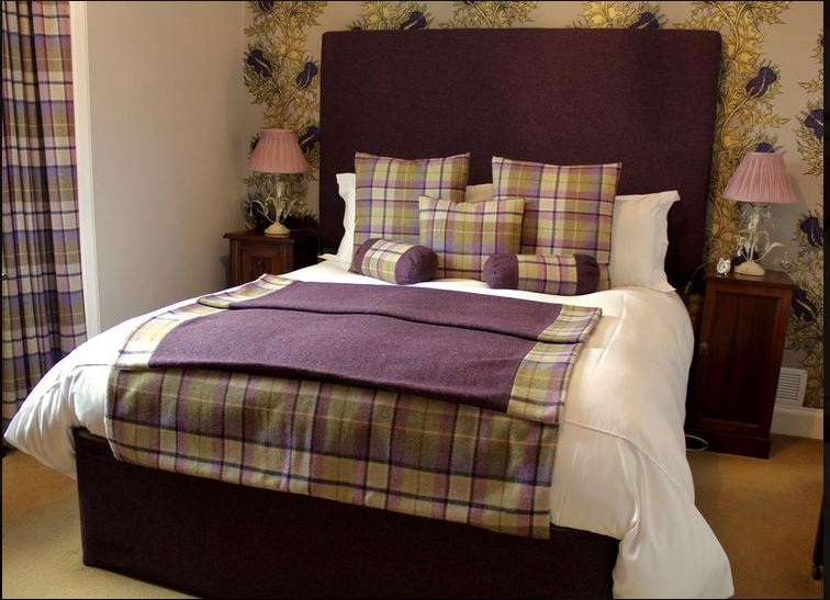 Bedroom at luxury B&B Islay