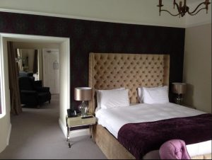 Bedroom at luxury B&B Llansteffan