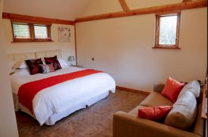 Double or twin room at luxury B& Cromer