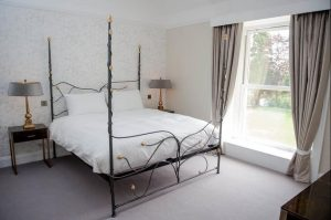 Double room at Mansion House Llansteffan