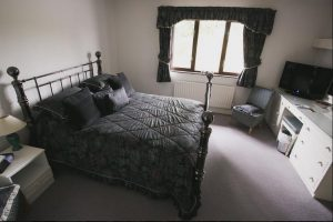 Luxury bedroom at the Old Schoolhouse Inn Comber