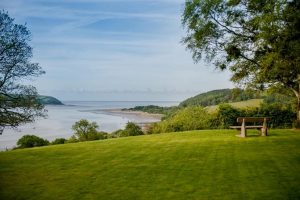 View from the garden at B&B Llansteffan7